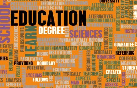 교육 부문과 예술과 같은 다른 관련 약관