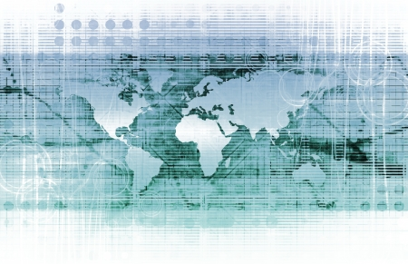 decryption: Modern Technology Code Illustration Lines as Art