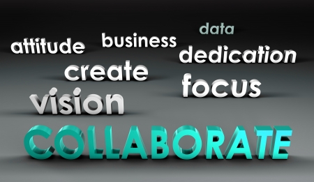 Collaborate at the Forefront in 3d Presentation photo