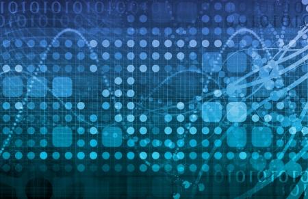 monitoreo: Seguridad de datos de red monitor como un concepto