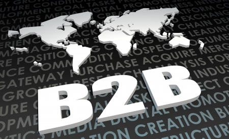B2B Industry Global Standard on 3D Map photo