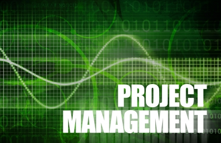 assign: Project Management of a Company in Business Stock Photo