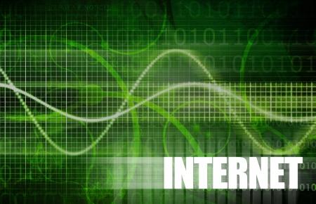 website header: Internet Technology on a Global Scale Art Stock Photo