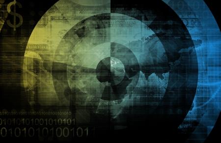 Medische wetenschap met moderne technologie als art Stockfoto
