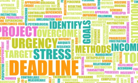 hurrying: Deadline in the Work Place and Growing Stress