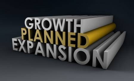 Planned Expansion and Growth of a Company photo