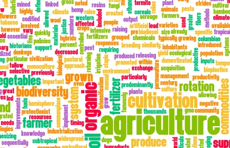 Agriculture Industry in the Farming Sector Art Stockfoto