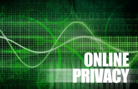 Online Privacy with Web Data on the Internet Stock Photo - 20406754