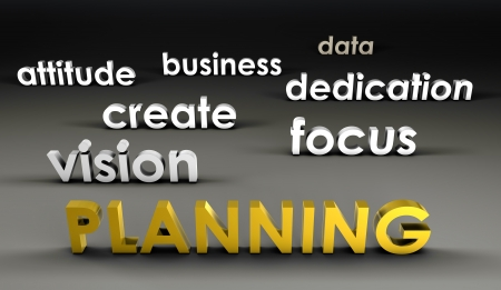 Planning at the Forefront in 3d Presentation photo