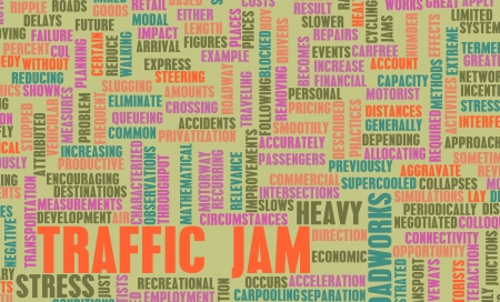 woe: Traffic Jam with Massive Frustration on Road
