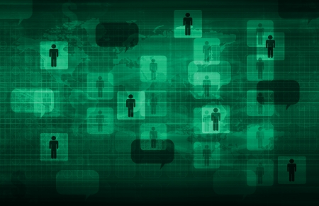 Data Network on a Corporate System as Art Stock Photo - 20444281