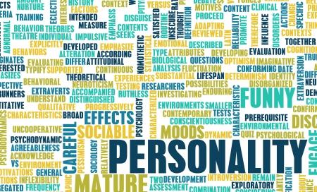personalit�: Tratti di personalit� e test come concetto Archivio Fotografico
