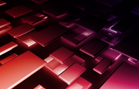 operational: Abstract Background with a Technology Theme Art Stock Photo