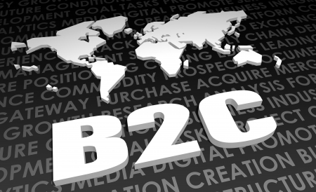 b2c: B2C Industry Global Standard on 3D Map
