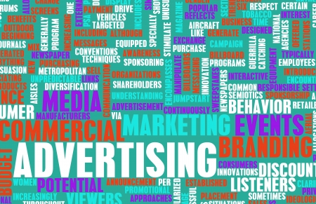Advertising Strategy and Budget as a Concept Stock Photo - 20462833