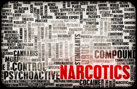 drug bust: Narcotics and Stimulants as Restricted Drugs Art