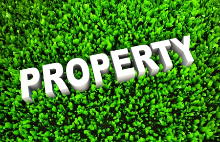 insights: Growing Property Wealth and Wise Growth of Money Stock Photo