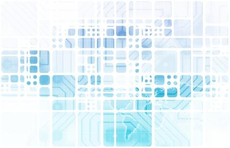 Presentatie Achtergrond van Web Data Apps Abstract Stockfoto