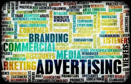 Werbung Strategie und Budget als Konzept