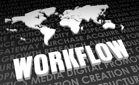 Workflow Industry Global Standard on 3D Map photo