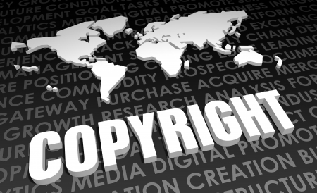 Copyright Industry Global Standard on 3D Map photo