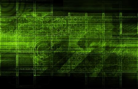 Analysez les données du système pour Pattern Recognition Art Banque d'images - 20545618