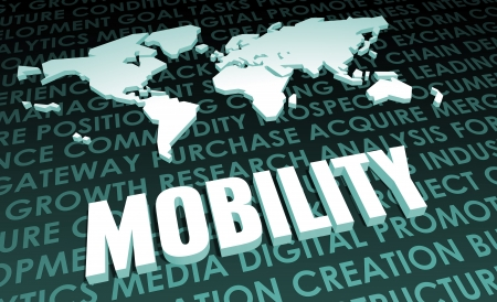 Mobility Industry Global Standard on 3D Map Stock fotó