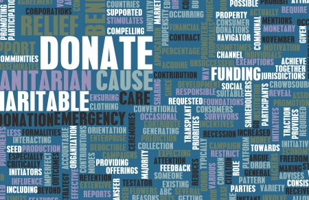 charitable: Donate for a Charity or Charitable Cause