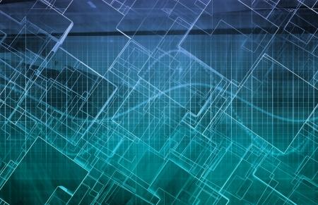 Engineering Design scienza come un abstract Moderna Archivio Fotografico - 20721183