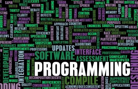 プログラミングやソフトウェア開発でのコンパイル 写真素材