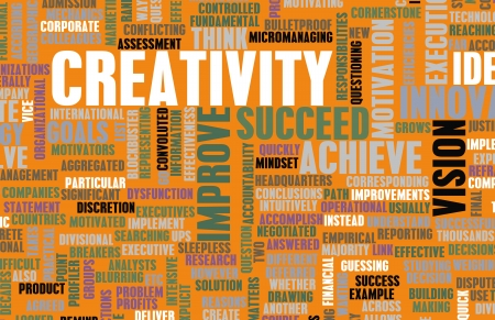 think out of the box: Creativity and Inspiration as a Art Concept