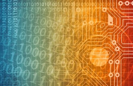 Security Network und Überwachung von Daten im Web Lizenzfreie Bilder