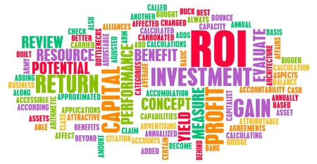 gained: ROI or Return on Investment of Art Concept