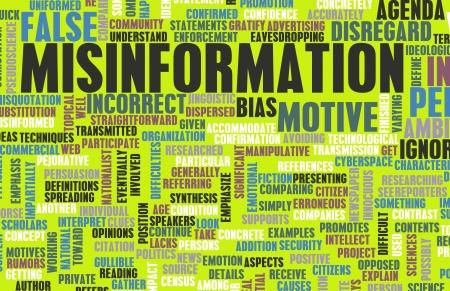 Desinformation und die Verbreitung von gefälschten Nachrichten