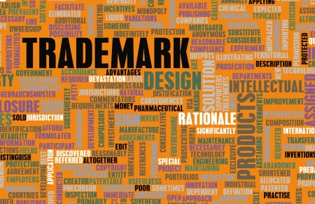 Trademark Design and Ownership Rights as Abstract photo
