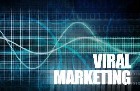 Viral Marketing as a Core Concept Art 版權商用圖片