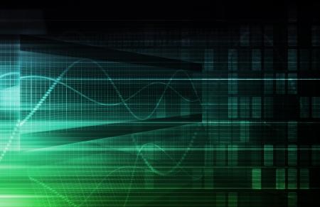 Virtuelle Technologie mit Data Filtering Web Art