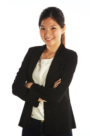internship: Asian Business Woman or Young Adult Professional