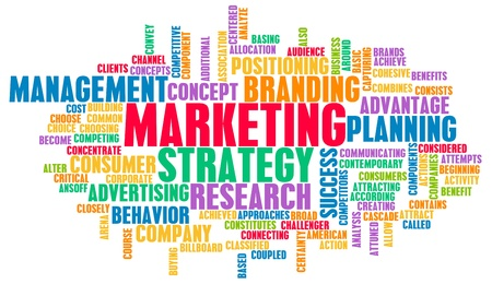 product placement: Marketing Strategy and Core Objectives of Product Stock Photo
