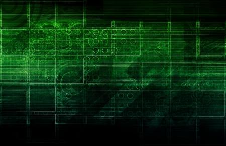 hightech: Evolving Technology Evolution as a Background Art