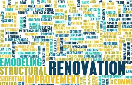 Renovierung oder Umbau Ihres Hauses DIY als Konzept Lizenzfreie Bilder