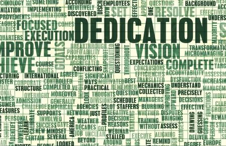 sacrificio: La dedicaci�n y el sacrificio de sus propias metas