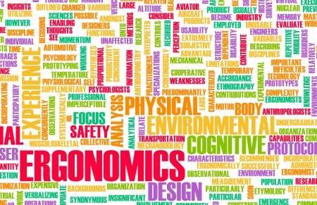Ergonomics Science and Study Human Factor Concept Stock Photo - 20897480