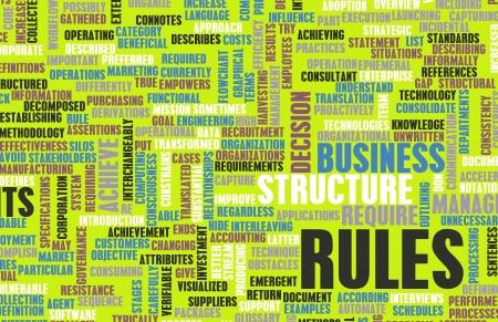 Regels en Richtlijnen voor de wet of Legal Scenarios Stockfoto