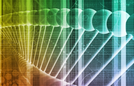 drug discovery: Pharmaceutical Research Data As a Science Art Stock Photo