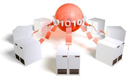 Database Server Management System With Central DB Reklamní fotografie