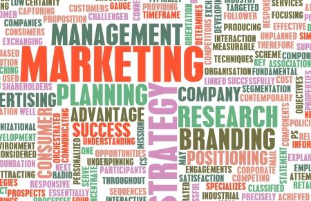 gestion documental: Direcci?n de Marketing y Ventas Arte Key Puntos Foto de archivo