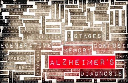 diagnosed: Alzheimer