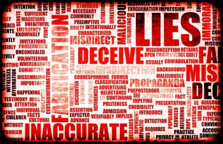 Lügen und die Verbreitung von Fake Informationen