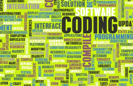 Coding or Programming in Software Development photo